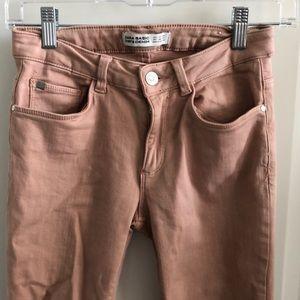 Zara Denim Blush Jeans